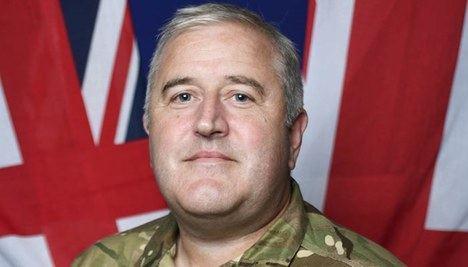 El comodoro Steve Dainton, jefe de las fuerzas británicas destacadas en Gibraltar. (Foto: https://noticiasgibraltar.es/).