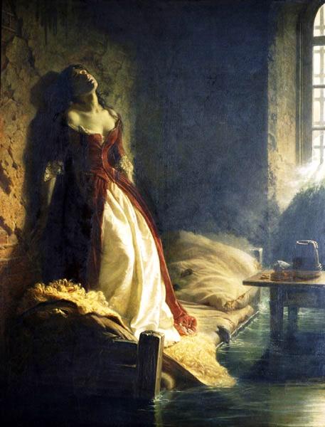 La Princesa Tarakanova, de Konstantin Flavitsky (1864), Museo Galería Tretiakov de Moscú