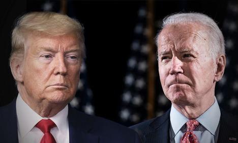 Los candidatos a la Casa Blanca 2020: Trump (republicano) y Biden (demócrata). Foto: https://elceo.com.