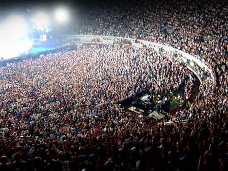 Concentración de VOX en Vistalegre, Madrid. (Foto: El Plural)